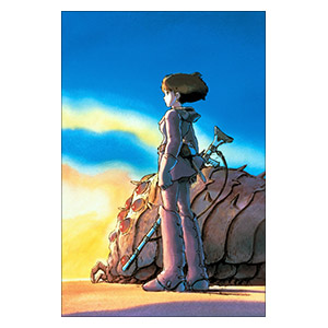 Nausicaa of the Valley of Wind. Размер: 30 х 45 см